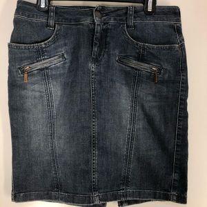 Esprit denim skirt size 27 us size 4